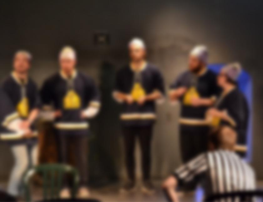 photographie flouté lors d'une soirée de la LIGE