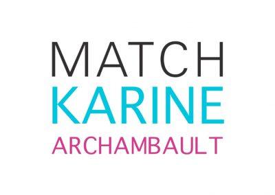 Match Karine Archambault